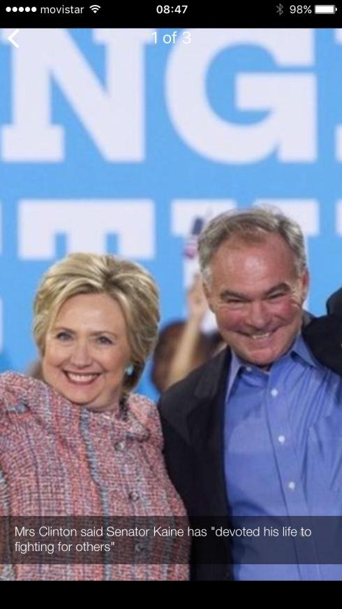 Clinton & Kaine